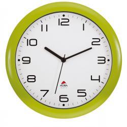 Orologio da parete Hornew - diametro 30cm - verde - Alba