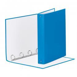 Raccoglitore Meeting Vivida - 22x30cm - 4anelli - dorso 4cm - ppl blu - Esselte