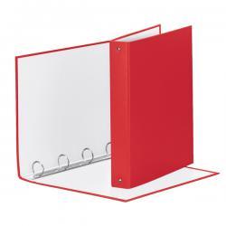 Raccoglitore Meeting Vivida - 22x30cm - 4anelli - dorso 4cm - ppl rosso - Esselte