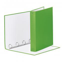Raccoglitore Meeting Vivida - 22x30cm - 4anelli - dorso 4cm - ppl verde - Esselte