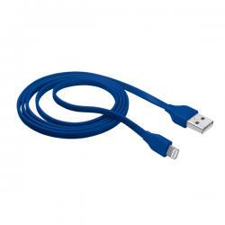 Cavo Lightning piatto per attacco USB - blu - Trust