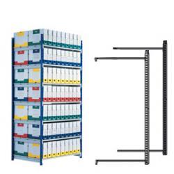 Scaffale RANG'ECO - modulo aggiunta - altezza 2 m - 5 ripiani - 100x70 cm - Paperflow