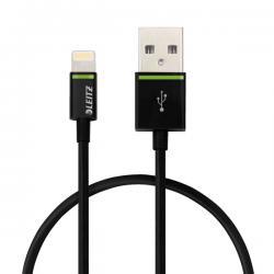 Cavo da Lightning a USB - 30 cm - nero - Leitz Complete