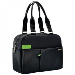 "Borsa shopper Smart Traveller per PC - 13.3"" - nero - Leitz Complete"