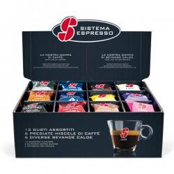 Set degustazione in capsule - caffe/bevande - Esse caffè - conf. 36 pezzi