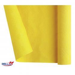 Tovaglia di carta - larghezza 120 cm - giallo - DOpla - rotolo da 7 m