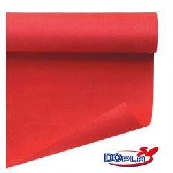 Tovaglia di carta - larghezza 120 cm - rosso - DOpla - rotolo da 7 m