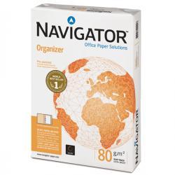 Carta Organizer 2 fori - A4 - 80gr - 210 x 297mm - Navigator - conf. 500fg