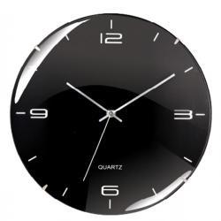 Orologio da parete Eleganta - diametro 29,3cm - nero - Cep