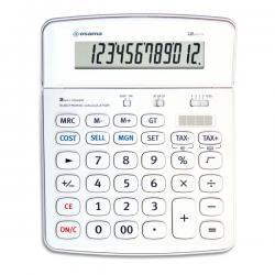 Calcolatrice da tavolo OS 504 - 12 cifre - Osama