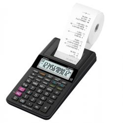 Calcolatrice scrivente HR-8RCE - 12 cifre - nero - Casio