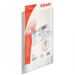 Portalistini personalizzabile - 22x30 cm - 40 buste lucide - trasparente - Esselte