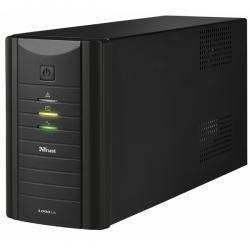 Gruppo di continuità Oxxtron 1000VA UPS + 2 prese schuko aggiuntive da 220 V - Trust