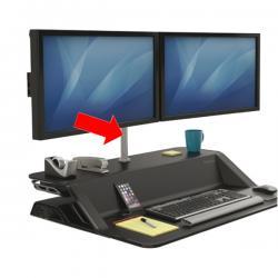 Braccio porta monitor doppio per Postazione Sit Stand Lotus™ - Fellowes