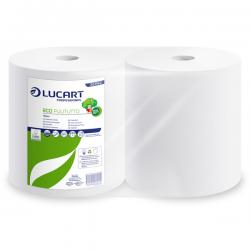 Bobina asciugatutto Eco Pulitutto - 800 strappi - 200 m - microgoffrata - Lucart