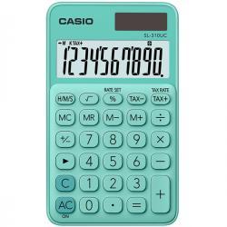 Calcolatrice tascabile SL-310UC - 10 cifre - verde - Casio