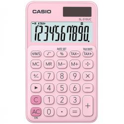 Calcolatrice tascabile SL-310UC - 10 cifre - rosa - Casio