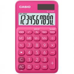 Calcolatrice tascabile SL-310UC - 10 cifre - rosso - Casio