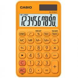 Calcolatrice tascabile SL-310UC - 10 cifre - arancio - Casio