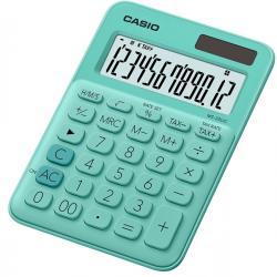Calcolatrice da tavolo MS-20UC - 12 cifre - verde - Casio