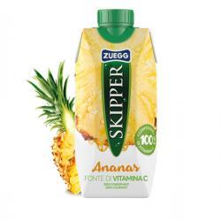 Succo Skipper - gusto ananas - Zuegg - brick 330 ml