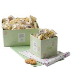 Biscotti al burro assortiti - Loison - scatola da 200