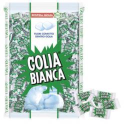 Caramelle Golia Bianca - busta da 1kg (400 pezzi circa)