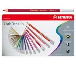 Matite carboncino Carbothello - 36 colori assortiti - Stabilo