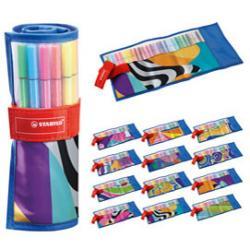Rollerse Just Like You Pen68 - 25 colori assortiti - Stabilo