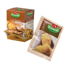 Zucchero di canna - 200 bustine da 5 gr cadauna - Viander