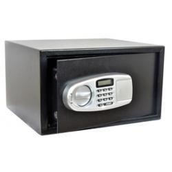 Cassaforte di sicurezza - serratura elettronica - 43x36,5x25 cm - 15 kg - nero - Iternet