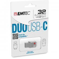 Emtec - USB 3.0 + Type C - T400 DUO - 32 GB