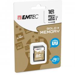 Emtec - SDHC - class 10 gold Plus, 16GB