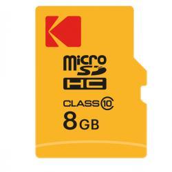 Kodak - micro sdhc - 8gb class10 extra
