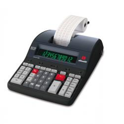 Olivetti - calcolatrice logos - 902 professionale 12 cifre e 2 colori 4 operazioni base