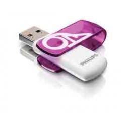 Philips - USB 2.0 - Vivid edition - 64 GB - viola