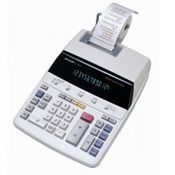Sharp - calcolatrice - da tavolo scrivente, EL1607P, 12cifre