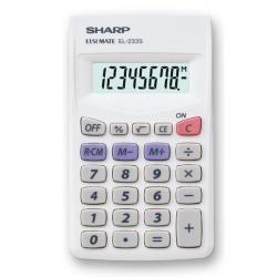 Sharp - calcolatrice - tascabile-EL233SB-8 cifre