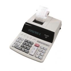 Calcolatrice scrivente EL 2607PG - 12 cifre - stampa bicolore - alimentazione da rete - Sharp - EL2607PGGYSE