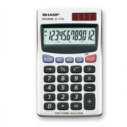 Sharp - calcolatrice - tascabile-EL379SB-12 cifre