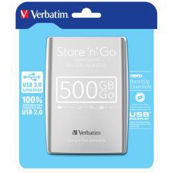 Verbatim - hard disk - store 'n' go usb 3.0 da 500 gb