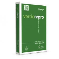 Carta fotocopie Verde Repro 80s - 210 x 297mm - 80gr - Burgo - conf. 500fg