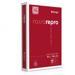 Carta fotocopie Rossa Repro 80n - 210 x 297mm - 80gr - Burgo - conf. 500fg