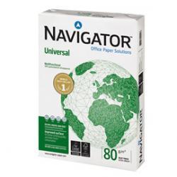 Carta bianca Navigator Universal - A4 - 80gr - risma da 500 fogli - ordine max 25 risme