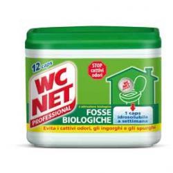 WC NET Fosse Biologiche - 12 capsule da 216 g