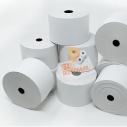 Rotolo carta termica termica BPA free - 55gr - neutra - 59,5mmx120mt Ø95mm - Rotomar