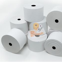 Rotolo carta termica termica BPA free - 70gr - neutra - 57mmx85mt Ø87mm - Rotomar